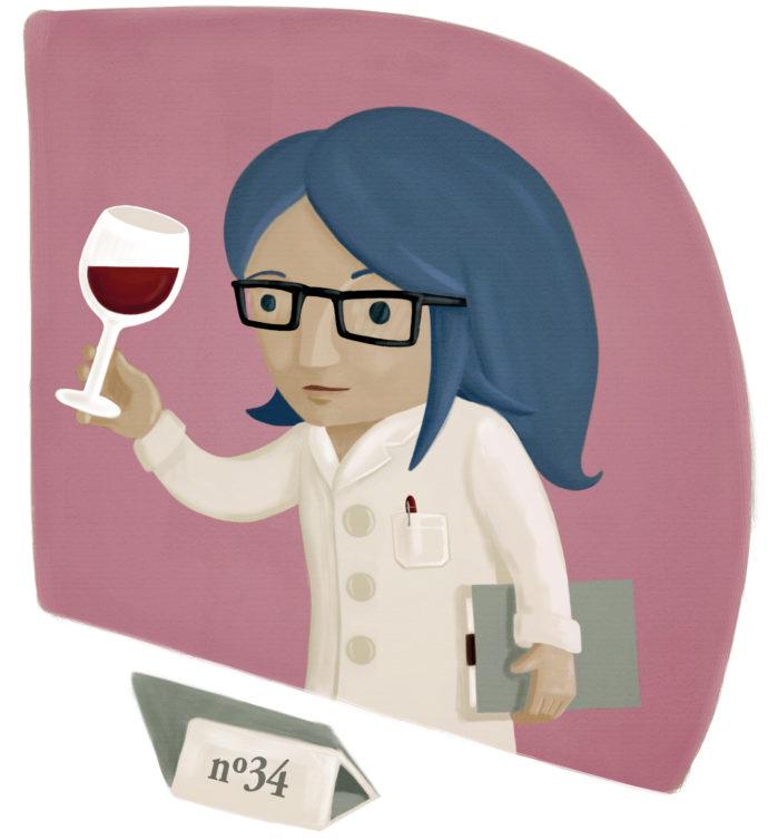 Cata de vinos. Ilustración para el epígrafe 6.1, «Evaluación de lo realizado: labor docente, organización, tipo de recursos»