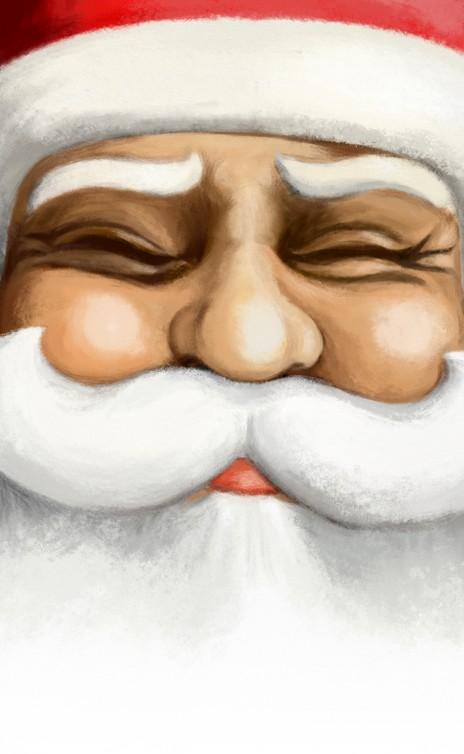 Santa Claus 2010 card